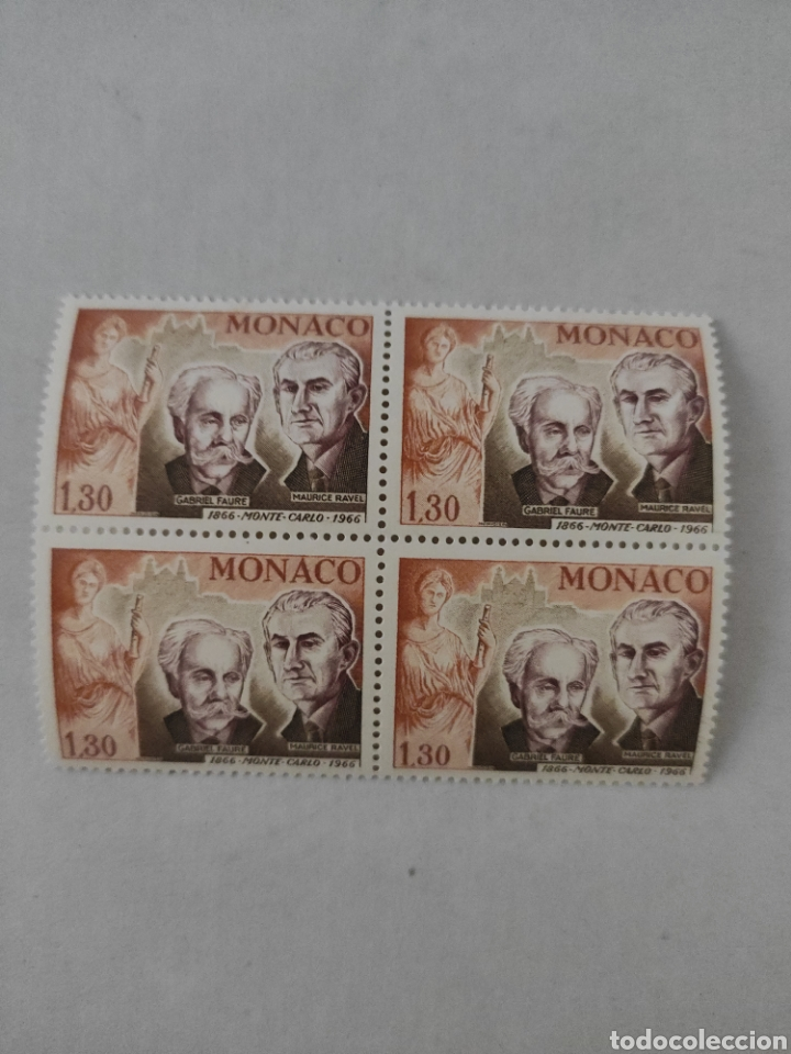 Sellos: Lote sellos MÓNACO año 1966 - Foto 8 - 218230906