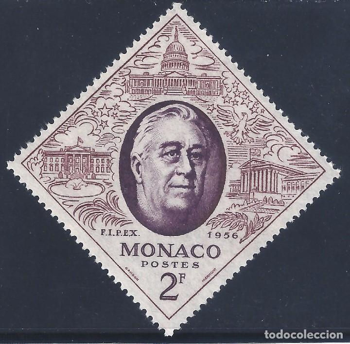 MÓNACO 1956. EXPOSICIÓN FIPEX. MNH ** (Sellos - Extranjero - Europa - Mónaco)