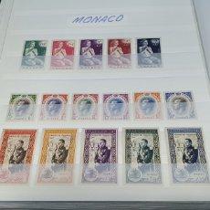 Sellos: SELLOS DE MÓNACO 1955. Lote 219377781