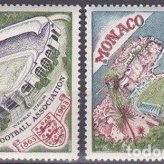Sellos: LOTE DE SELLOS NUEVOS - PRINCIPADO DE MONACO - FUTBOL - DEPORTES - (AHORRA EN PORTES, COMPRA MAS). Lote 221411757