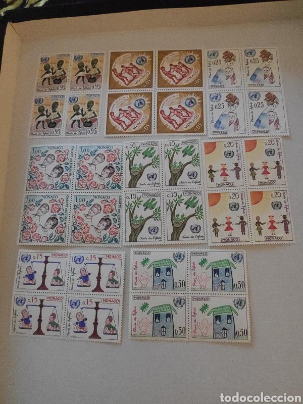 SELLOS MÓNACO 1963 YVERT N º 599 A 606 NUEVA 1ER ELECCIÓN (Sellos - Extranjero - Europa - Mónaco)