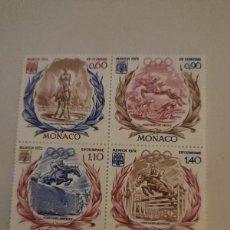 Sellos: SELLOS MONACO. AÑO: 1972. TEMA: OLIMPIADA DE MUNICH-1972.. Lote 221594780