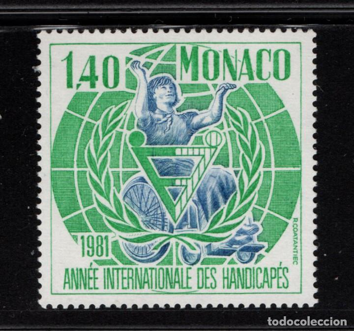 MONACO 1276** - AÑO 1981 - AÑO INTERNACIONAL DEL MINUSVALIDO (Sellos - Extranjero - Europa - Mónaco)