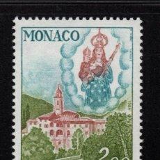 Sellos: MONACO 1426** - AÑO 1984 - SANTUARIO DE LA VIRGEN DE LAGHET. Lote 222350508