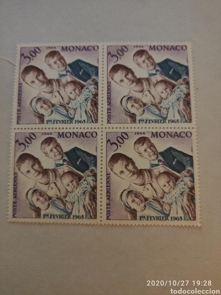 SELLOS MÓNACO AÉREO 1966 (Sellos - Extranjero - Europa - Mónaco)