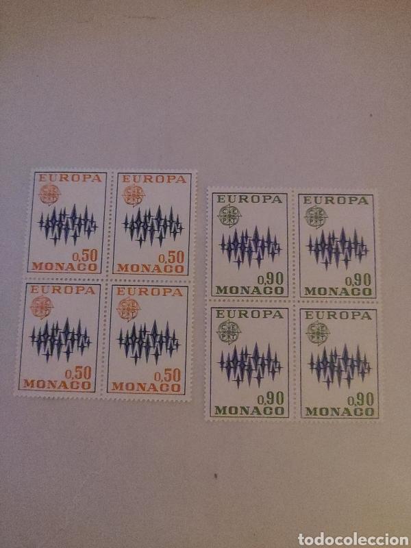 SELLOS MONACO - 1972 - NO 883/884 - EUROPA (Sellos - Extranjero - Europa - Mónaco)
