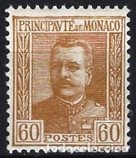 MÓNACO 1925 - PRÍNCIPE LUIS II - MH* (Sellos - Extranjero - Europa - Mónaco)