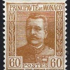 Timbres: MÓNACO 1925 - PRÍNCIPE LUIS II - MH*. Lote 223215126