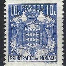 Timbres: MÓNACO 1938-39 - ESCUDO DE ARMAS - MH*. Lote 223217415