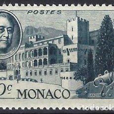 Timbres: MÓNACO 1946 - 1º ANIVERSARIO DE LA MUERTE DE FRANKLIN D. ROOSEVELT - MNH**. Lote 223225897