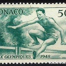 Timbres: MÓNACO 1948 - JJOO DE LONDRES - MNH**. Lote 223226836