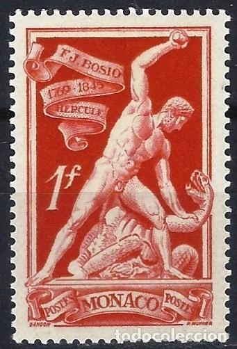 MÓNACO 1948 - 180º ANIV. DEL NACIMIENTO DE FRANCOIS-JOSEPH BOSIO, HÉRCULES - MNH** (Sellos - Extranjero - Europa - Mónaco)