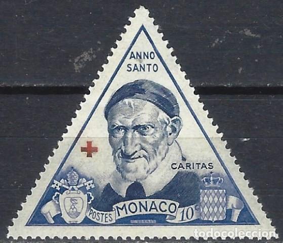 MÓNACO 1951 - AÑO SANTO, S. VICENT DE PAUL - MNH** (Sellos - Extranjero - Europa - Mónaco)