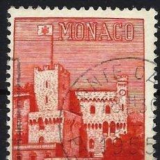 Sellos: MÓNACO 1954 - PALACIO DE MÓNACO - USADO. Lote 223261243