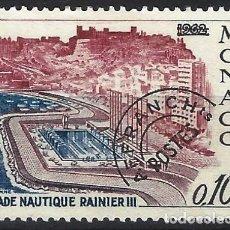 Sellos: MÓNACO 1964 - ESTADIO ACUÁTICO, PRECANCELADO - MINT SIN GOMA. Lote 223322930