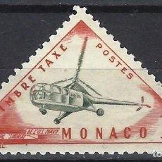 Francobolli: MÓNACO 1953-54 - SELLO DE FRANQUEO, TRANSPORTE - MH*. Lote 223338883