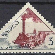 Sellos: MÓNACO 1953-54 - SELLO DE FRANQUEO, TRANSPORTE - MNH**. Lote 223339375