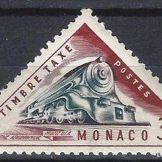 Francobolli: MÓNACO 1953-54 - SELLO DE FRANQUEO, TRANSPORTE - MH*. Lote 223339431
