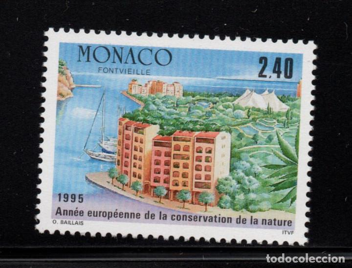 MONACO 1979** - AÑO 1995 - AÑO EUROPEO DE LA CONSERVACION DE LA NATURALEZA (Sellos - Extranjero - Europa - Mónaco)