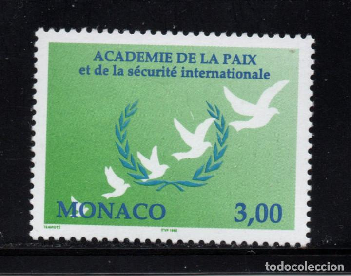 MONACO 2149** - AÑO 1998 - 30º SESION DE LA ACADEMIA DE LA PAZ (Sellos - Extranjero - Europa - Mónaco)