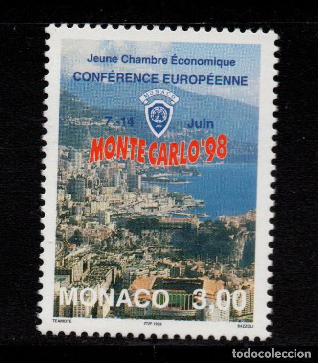 MONACO 2157** - AÑO 1998 - CONFERENCIA EUROPEA DE LA JOVEN CAMARA ECONOMICA (Sellos - Extranjero - Europa - Mónaco)