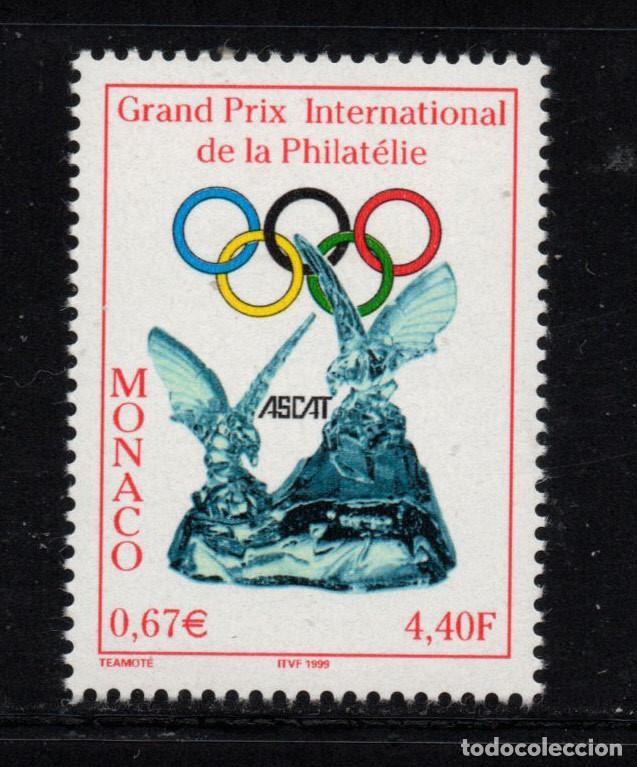 MONACO 2199** - AÑO 1999 - GRAN PREMIO INTERNACIONAL DE FILATELIA (Sellos - Extranjero - Europa - Mónaco)