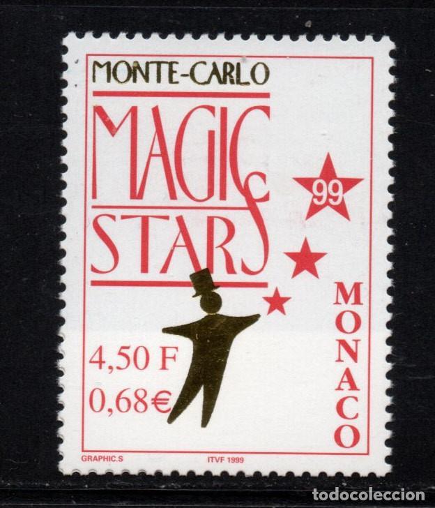 MONACO 2219** - AÑO 1999 - MONTECARLO MAGIC STARS (Sellos - Extranjero - Europa - Mónaco)