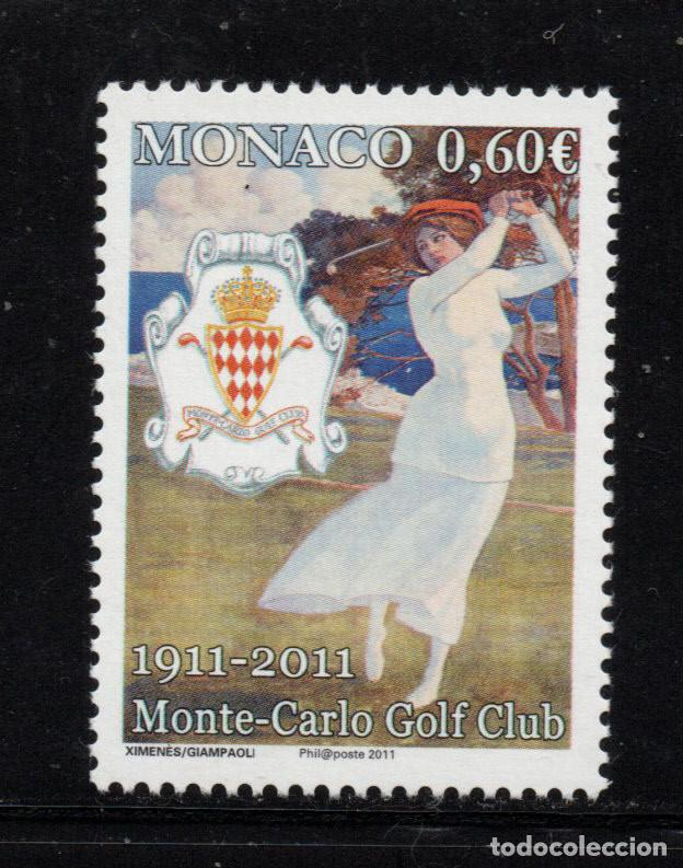 MONACO 2793** - AÑO 2011 - CENTENARIO DEL CLUB DE GOLF DE MONTE CARLÓ (Sellos - Extranjero - Europa - Mónaco)