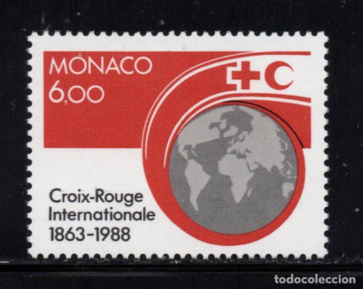 MONACO 1637** - AÑO 1988 - 125º ANIVERSARIO DE LA CRUZ ROJA (Sellos - Extranjero - Europa - Mónaco)