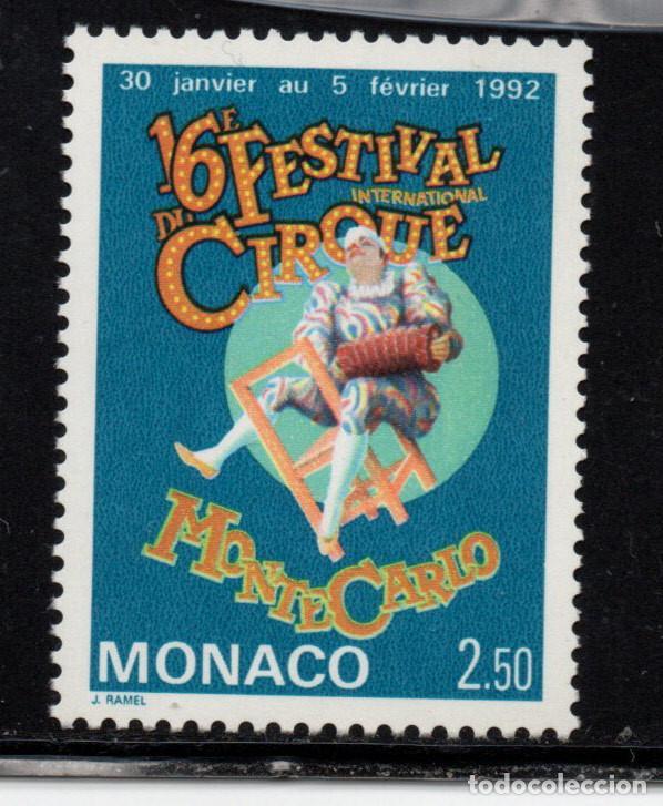 MONACO 1753** - AÑO 1991 - FESTIVAL INTERNACIONAL DEL CIRCO (Sellos - Extranjero - Europa - Mónaco)