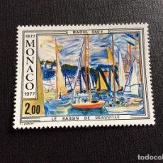 Sellos: MONACO Nº YVERT 1097*** AÑO 1977.CENTENARIO NACIMIENTO PINTOR R. DUFY. Lote 223763747