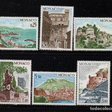 Sellos: MONACO 986/91** - AÑO 1974 - PAISAJES Y MONUMENTOS. Lote 224488798
