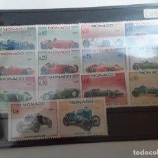 Timbres: AÑO 1967 MÓNACO SERIE NUEVA COCHES. Lote 231342460
