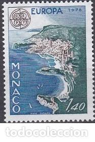LOTE DE SELLOS NUEVOS - MONACO 1978 - EUROPA - AHORRA GASTOS COMPRA MAS SELLOS (Sellos - Extranjero - Europa - Mónaco)