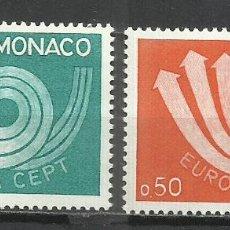 Sellos: 9372D-SELLOS SERIE COMPLETA 14,00€ MONACO 1973 EUROPA Nº 917/8 .BONITOS. Lote 234942350