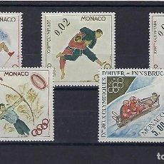 Sellos: MONACO. AÑO 1964. JUEGOS OLÍMPICOS.. Lote 235532165