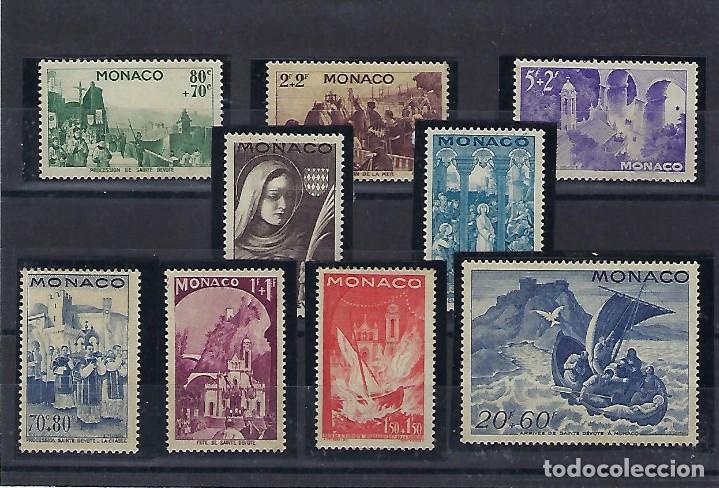 MONACO. AÑO 1944. FIESTA DE LA SANTA DEVOTA. (Sellos - Extranjero - Europa - Mónaco)
