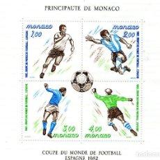 Sellos: MONACO, 1982, , MICHEL BL20. Lote 245776495