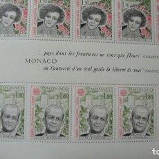 Sellos: MONACO TEMA 1980 EUROPA YVERT H-18 + SERIE 1224/25 NUEVOS PERFECTOS SIN CHARNELAS. Lote 247393110