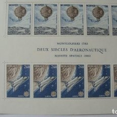 Sellos: MONACO TEMA EUROPA 1983 YVERT H-25 MAS SERIE 1365/66 NUEVOS SIN CHARNELAS. Lote 247407145