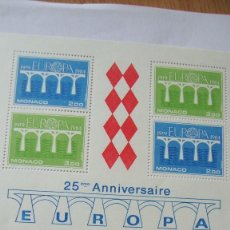 Sellos: MONACO 1984 TEMA EUROPA YVERT H-28 MAS SERIE 1418/19 NUEVOS SIN CHARNELAS. Lote 247408470