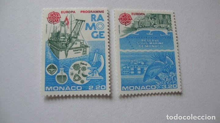 Sellos: MONACO 1986 TEMA EUROPA YVERT H-34 MAS SERIE 1520/21 NUEVOS SIN CHARNELAS - Foto 2 - 247410490