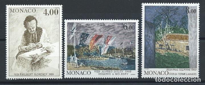 MONACO N°1693/95** (MNH) 1989 - TABLEAUX DE PEINTRE CÉLÈBRES (Sellos - Extranjero - Europa - Mónaco)