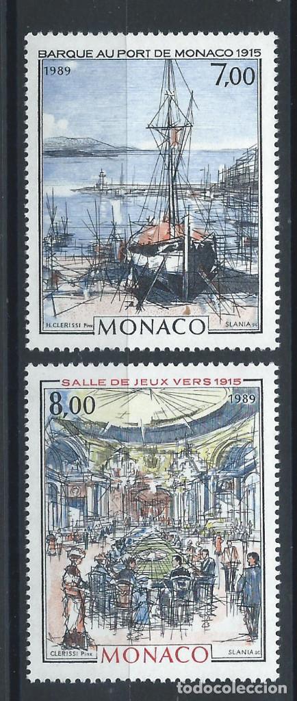 """MONACO N°1696/97** (MNH) 1989 - MONACO À LA """"BELLE ÉPOQUE"""" (Sellos - Extranjero - Europa - Mónaco)"""