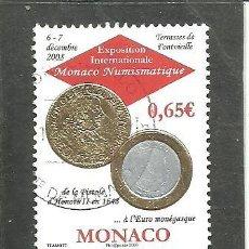 Selos: MONACO 2008 - YVERT NRO. 2641 - USADO. Lote 254879875