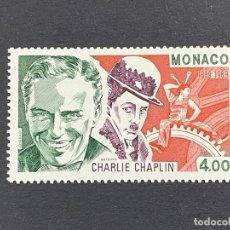 Sellos: MÓNACO, 1989. YVERT 1680. CENTENARIO NACIMIENTO CHARLIE CHAPLIN. NUEVO. Lote 258980760