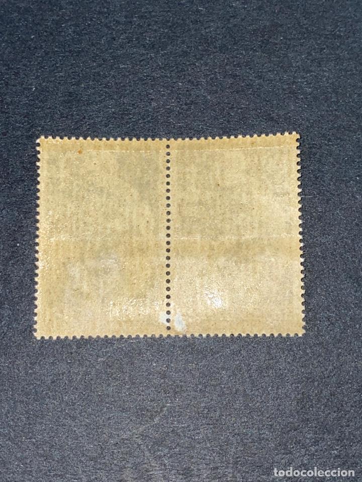 Sellos: MONACO, 1946. YVERT 293. OBRAS DE CARIDAD. BLOQUE DE 2. NUEVO. SIN FIJASELLOS - Foto 2 - 265103084