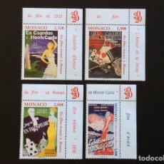 Selos: MONACO Nº YVERT 3249/2*** AÑO 2020. CINE.. Lote 267843414