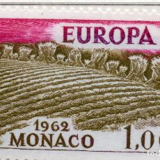 Sellos: MONAC0, 1962 STAMP , MICHEL 697. Lote 269604223