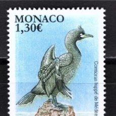 Sellos: MONACO 2018 - NATIONAL SPECIES - MEDITERRANEAN SHAG MNH. Lote 278582678